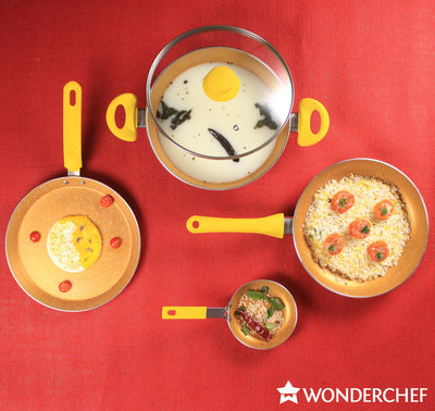 Wonderchef Da Vinci Set-Cookware