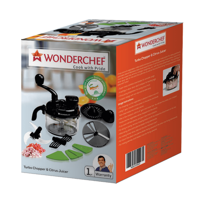 Wonderchef Appliances Wonderchef Turbo Chopper And Citrus Juicer