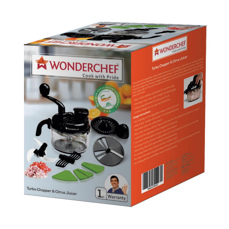 Wonderchef Turbo Chopper And Citrus Juicer