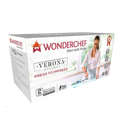 Wonderchef Verona Dry Iron 750W-Appliances