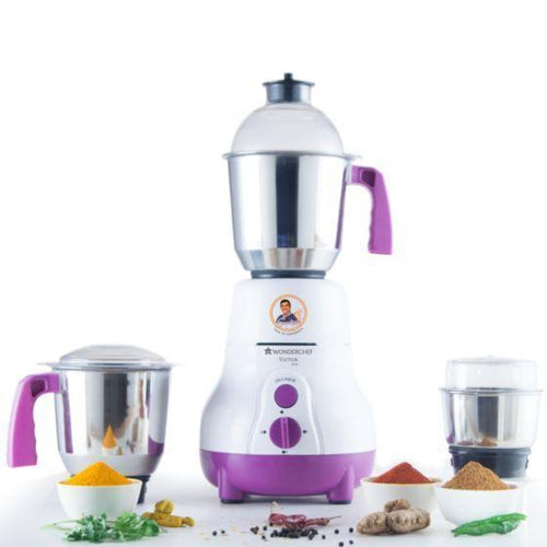 Wonderchef Appliances Wonderchef Victor Slim 600W Mixer Grinder