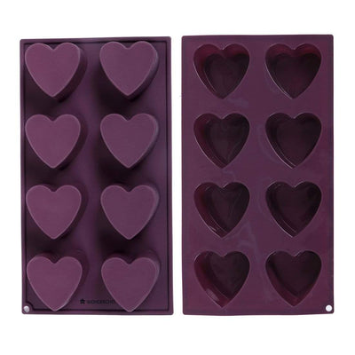 Wonderchef Silicone Heart Cake Mould-Bakeware