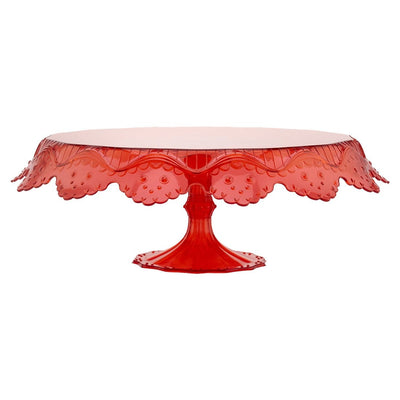 Wonderchef Pavoni Papillon Red Cake Stand-Bakeware