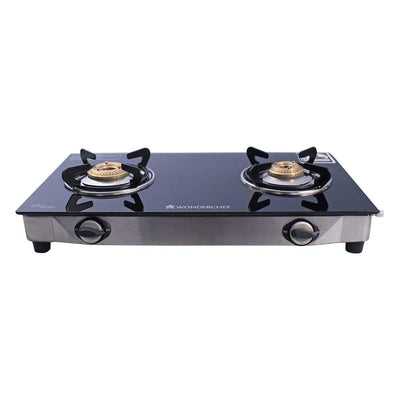 Wonderchef Cookware Wonderchef Ruby 2 Burner Glass Cooktop