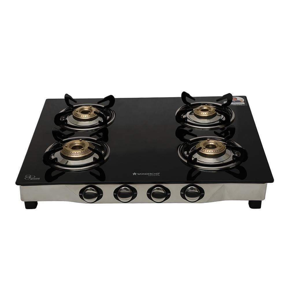 Ruby 4 Burner Glass Cooktop