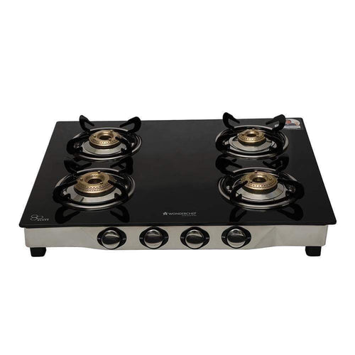 Wonderchef Cookware Wonderchef Ruby Glass Cooktop (4 Burner)