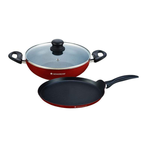 Wonderchef Cookware Wonderchef Ruby Series Wd 3Pc Set