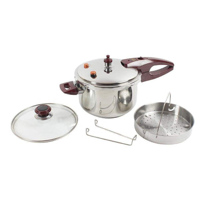 Wonderchef Secura 5 Pressure Cooker 5Ltrs (Induction Base)-Cookware
