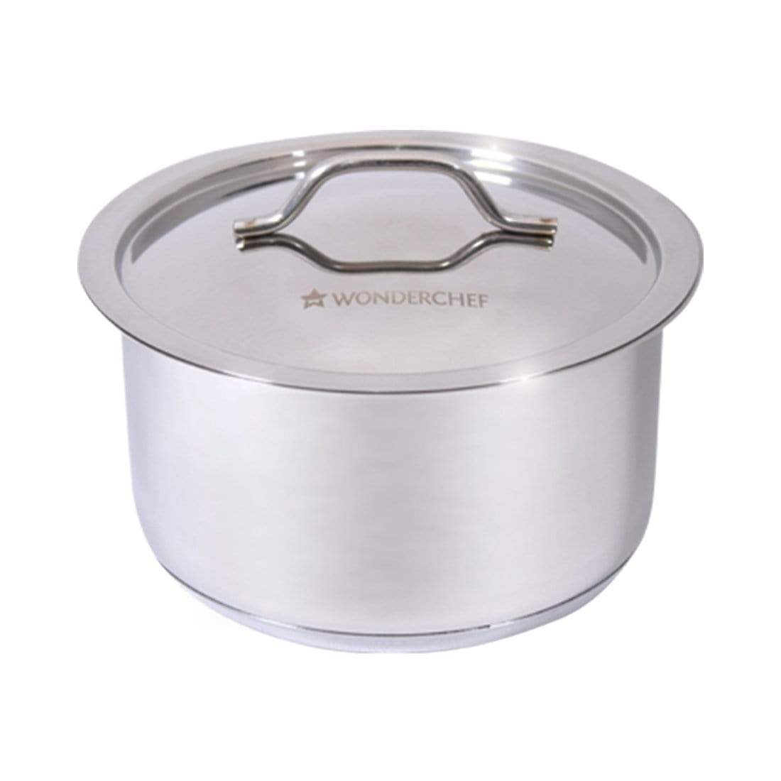 Stanton Stainless Steel Cooking Pot with Lid-16cm, 1.8L, 0.6mm