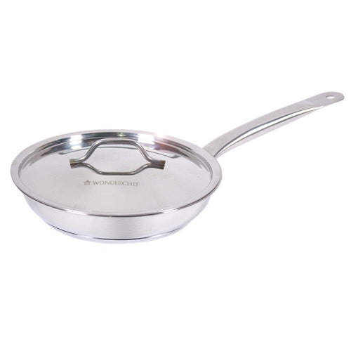 Wonderchef Cookware Wonderchef Stanton Fry Pan with SS Lid-20 cm