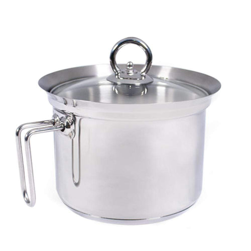 Wonderchef Cookware Wonderchef Stanton Milk Boiler with Glass Lid-16cm