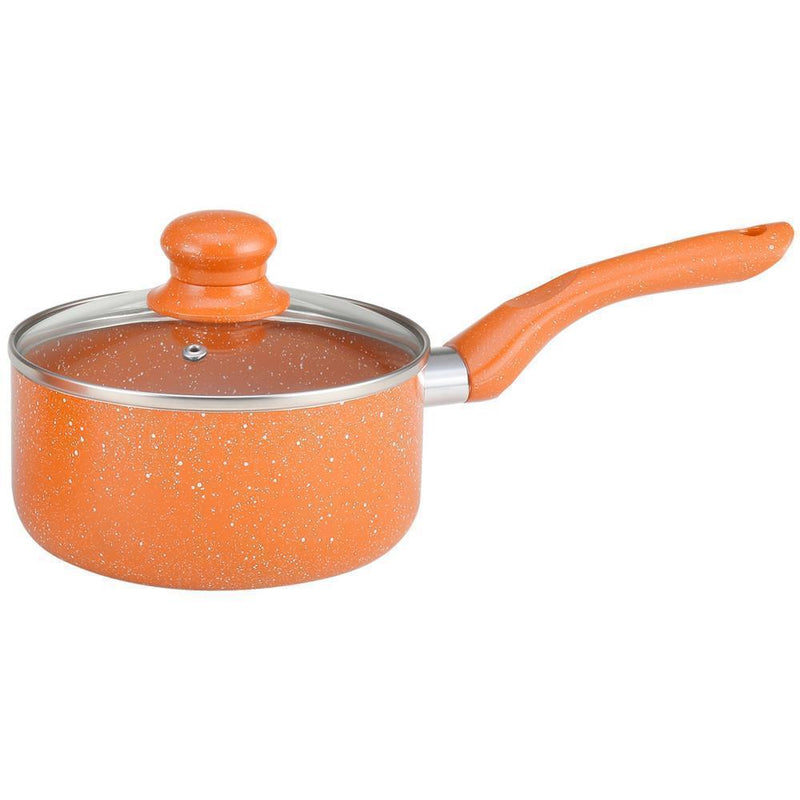 Wonderchef Cookware Wonderchef Tangerine Sauce Pan 16Cm