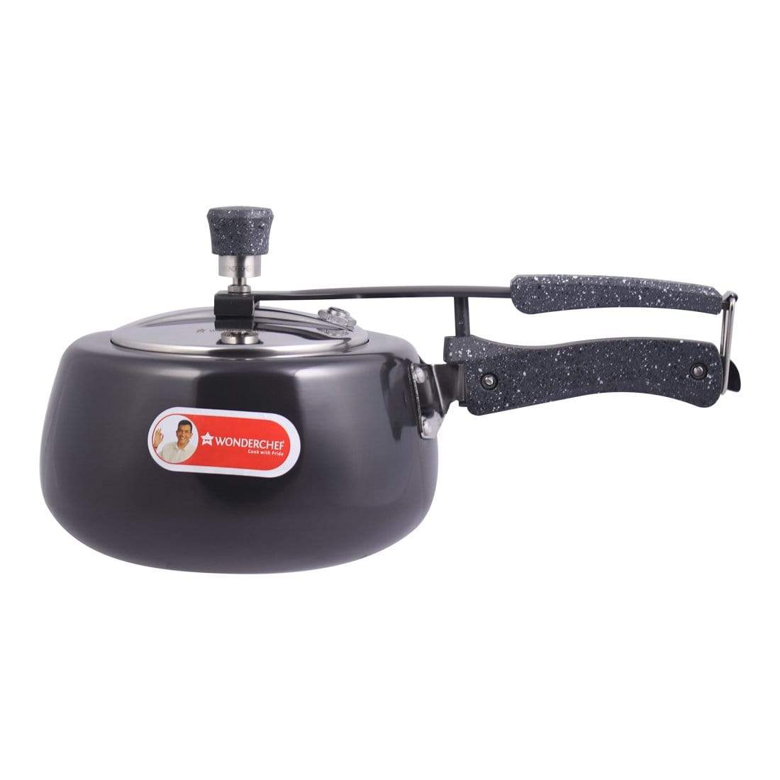 Wonderchef Taurus Hard Anodized Pressure Cooker  (3 Litre)