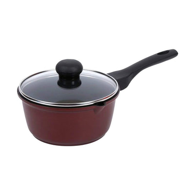 Wonderchef Terra Die Cast Sauce Pan With Lid - 16 Cm-Cookware
