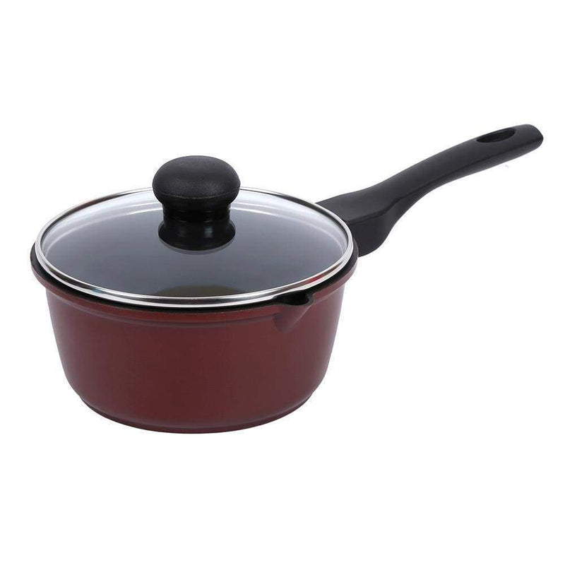 Wonderchef Cookware Wonderchef Terra Die Cast Sauce Pan With Lid - 16 Cm