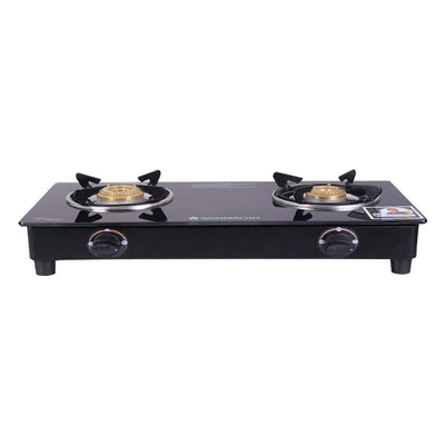 Wonderchef  Ultima 2 Burner Glass Cooktop -Cookware