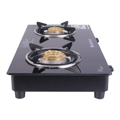 Ultima 2 Burner Glass Cooktop-Cookware