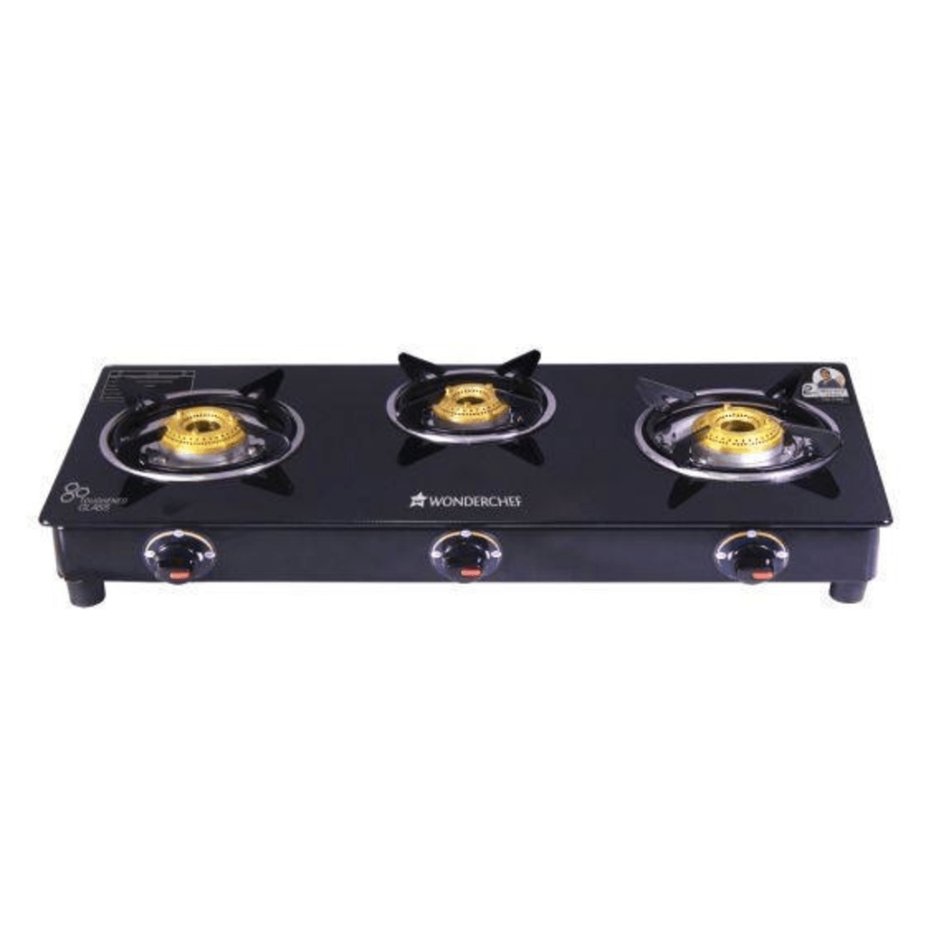 Ultima 3 Burner Glass Cooktop