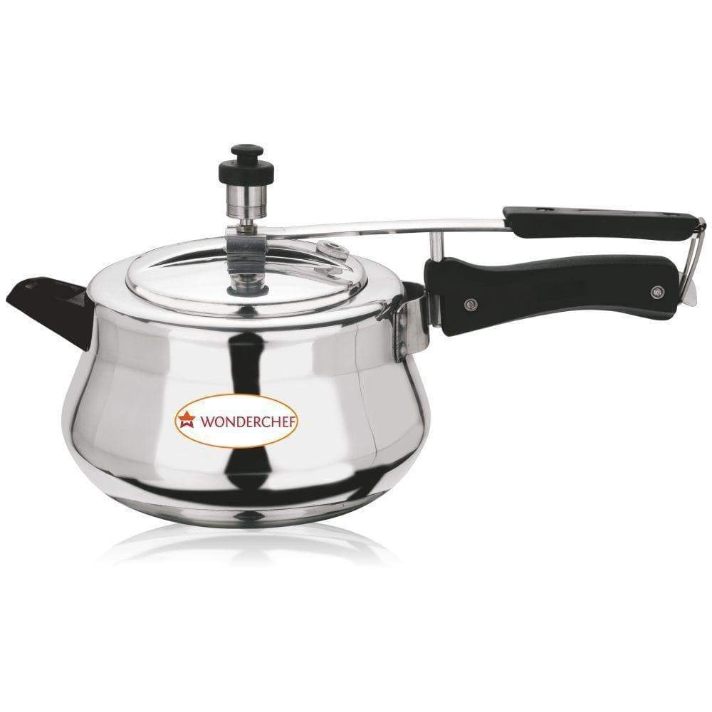 Wonderchef Cookware Wonderchef Ultima Pressure Cooker Aluminium Inner Lid 5.5L