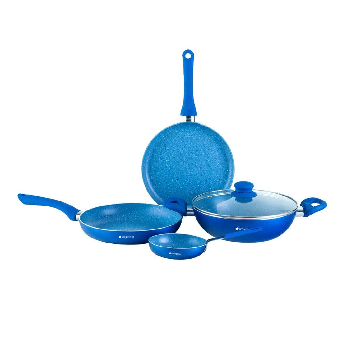 Wonderchef Cookware Wonderchef  Valencia Set - Blue