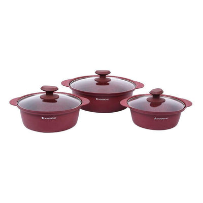 Wonderchef Vittorio Casserole Set-Cookware