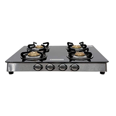 Zest  4 Burner Glass Cooktop-Cooktops