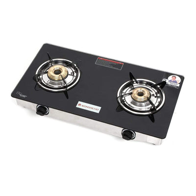 Wonderchef Zest Glass Cooktop 2 Burner-Cookware