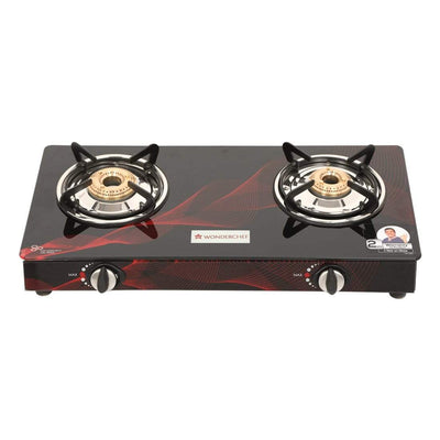 Wonderchef Zing 2 Burner Glass Cooktop-Cookware