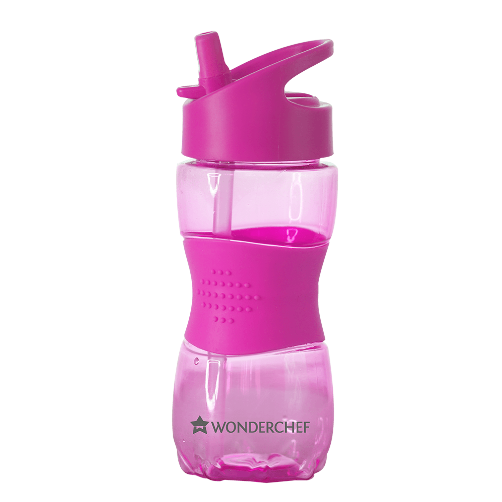 Wonderchef Flasks Wonderchef Sippy Water Bottle 350Ml Pink