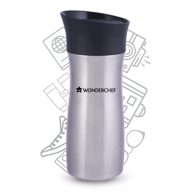 Wonderchef  Travel-Bot double wall flask (300ml)-Flasks