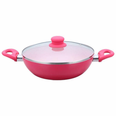 Wonderchef French Blossom Pink Set-Cookware