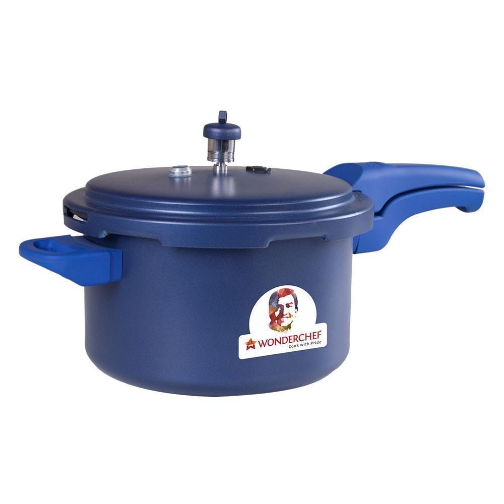 Wonderchef Health Guard Pressure Cooker Outer Lid 5L - Blue
