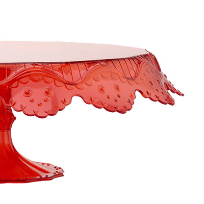 Pavoni Papillon Red Cake Stand-Bakeware