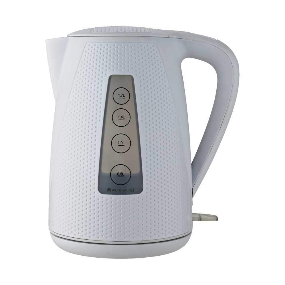 Wonderchef Regalia Kettle Monochrome White 1.7L
