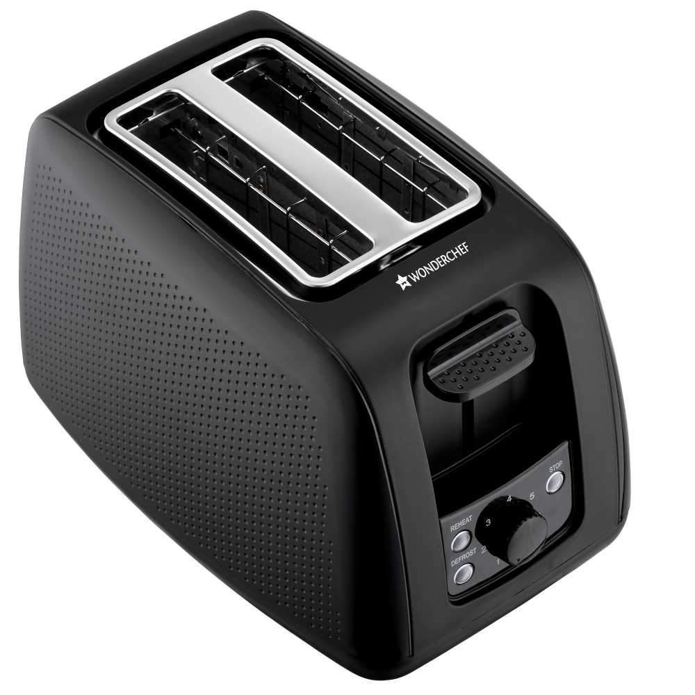 Wonderchef Regalia Toaster Monochrome Black
