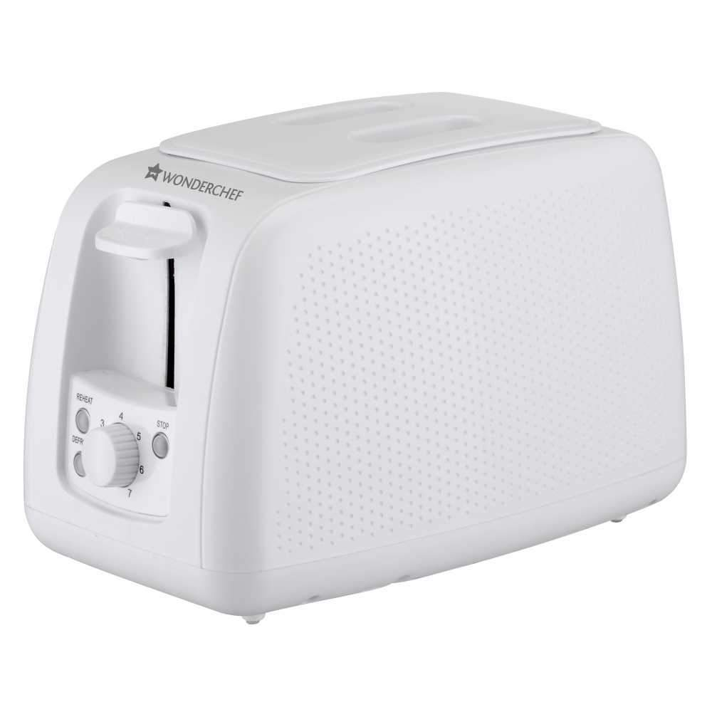 Wonderchef Regalia Toaster Monochrome White