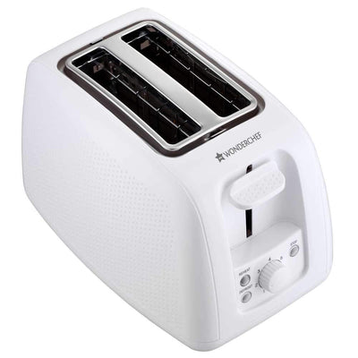 Wonderchef Regalia Toaster Monochrome White-Appliances