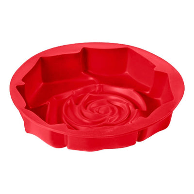 Pavoni Platinum Silicone Rose Shaped Cake Mould-Bakeware