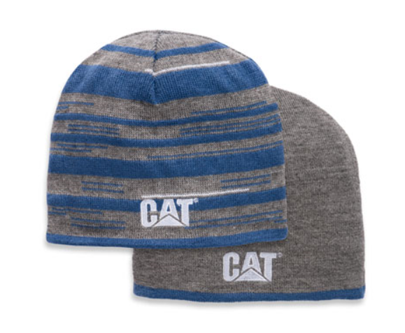 Reversible Striped Beanie