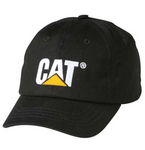 Cat Trademark Logo Peterson® Back Structured Adjustable Cap