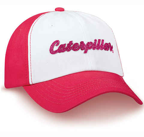 Glitter Caterpillar Logo Patch Cap