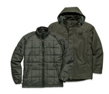 Cat Men's 3-in-1 Detachable Hooded Jacket