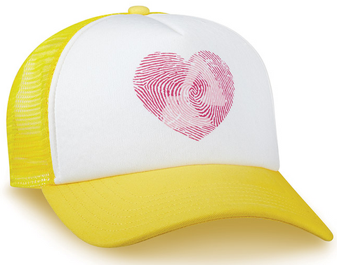 Thumbprint Heart Excavator Cap