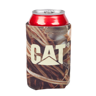 Cat Collapsible Camo Can Cooler