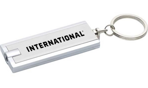International LED Light Key Chain