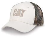 Cat Speckled Twill and Camo Mesh Adjustable Cap