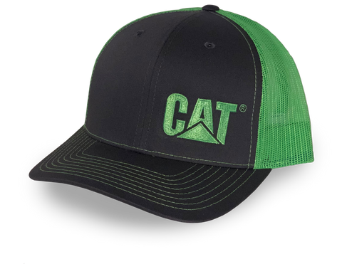 Cat Side Trademark Logo Mesh Cap