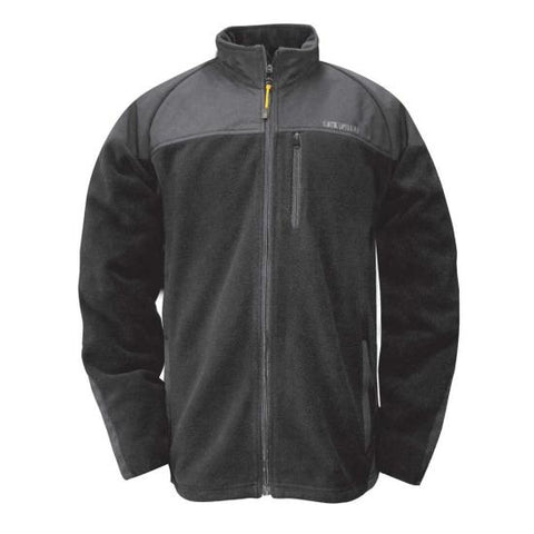Cat Men's Duo-Tone Fleece Jacket