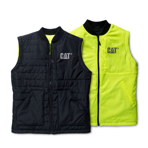 Cat Men's Hi-Vis Reversible Vest