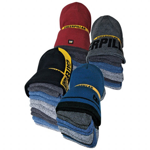 Cat Men's Beanie and Sock Bundle